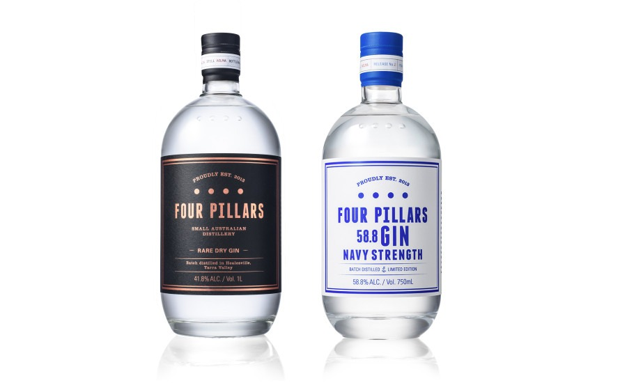 four pillars gin line up